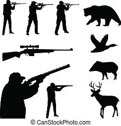 körvonal, vadászat