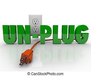 kötél, erő, villanyáram, kidugaszol, csökkentés, electrical kivezetés