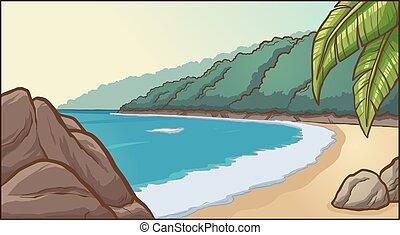 köves tengerpart