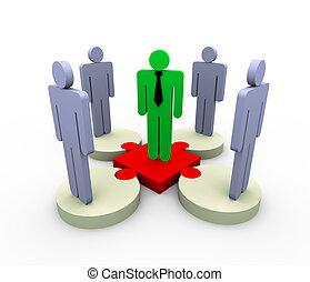 követő, 3, vezető, befog