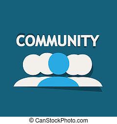 közösség, emberek