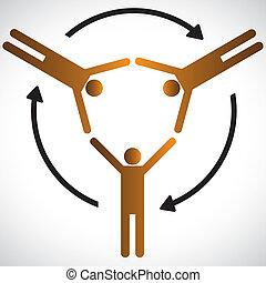 közösség, fogalom, különféle, depending, etc., más, eltart, grafikus, emberek, igények, látszik, jelkép, cooperation., őt előad, barátság, közösség, mindegyik, networking, fogalom