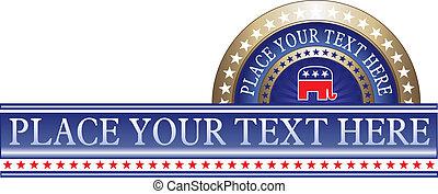 köztársasági érzelmű, politikai, címke