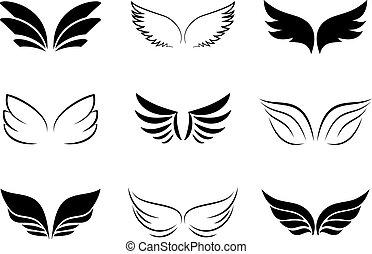 különböző, tervezés, szárny