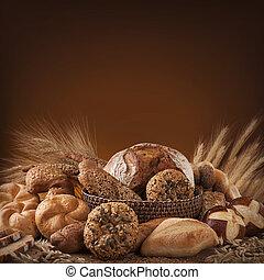 különféle, bread