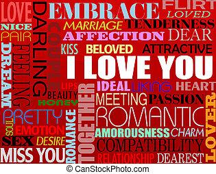 különféle, szeret, szavak