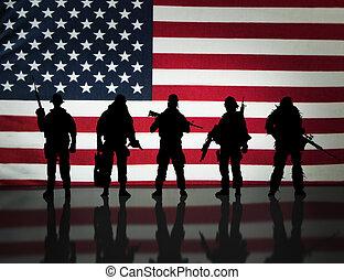 különleges, katonai erők
