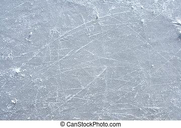 külső, korcsolya, felszín, jégpálya, megjelöl