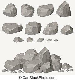 kő megkövez, állhatatos