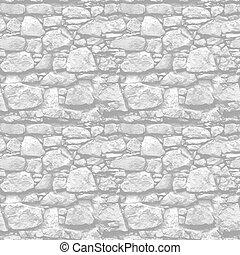 kőfal, -, seamless, gyakorlatias, vektor, háttér