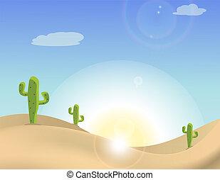kaktusz, színhely, dezertál