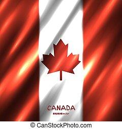 kanada, nemzeti lobogó, háttér