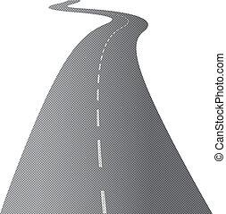 kanyargás, hosszú út