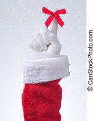 karácsony, emlékezik, háttér, havas