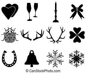 karácsony, gyűjtés, ikonok