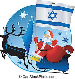 karácsony, israel!, vidám