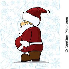 karácsony, klaus, szent