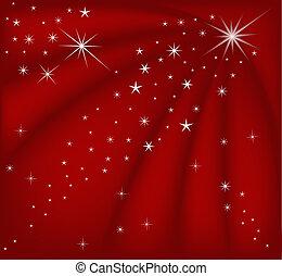 karácsony, piros, varázslatos