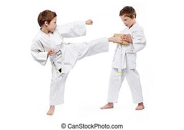 karate, gyerekek