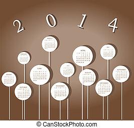 karikák, 2014, naptári év