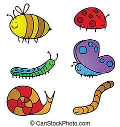 karikatúrák, rovar