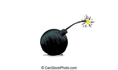 karikatúra, bombáz