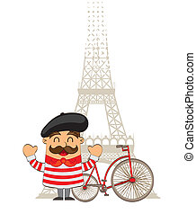 karikatúra, francia