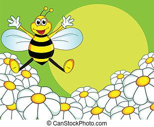 karikatúra, méh