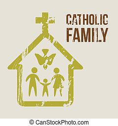 katolikus, család