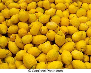 kazal, citromfák