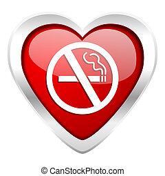 kedves, dohányozni tilos, ikon