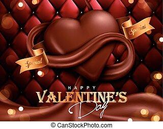 kedves, nap, csokoládé