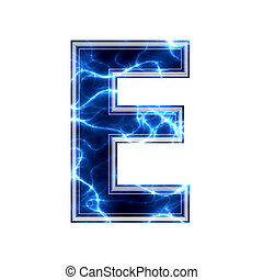 kelet, elektromos, -, háttér, levél, fehér, 3