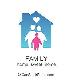 kellemes, család saját
