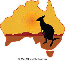 kenguru, ausztrália