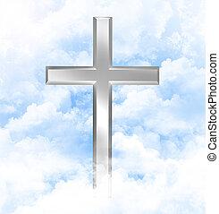 keresztény, elhomályosul, kereszt