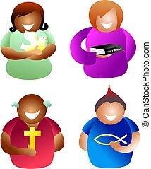 keresztény, emberek