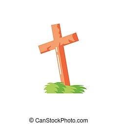 keresztény, kereszt, háttér, fehér