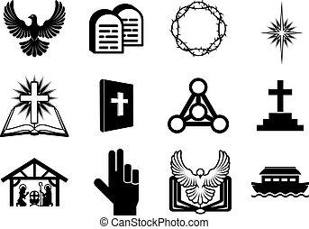 keresztény, vallásos icons
