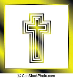 kereszt, háttér, keresztény
