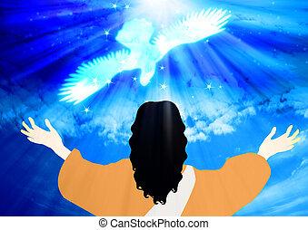 keresztség, jézus