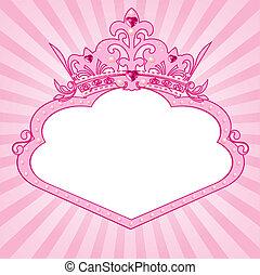 keret, fejtető, hercegnő