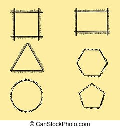 keret, geometriai, perem