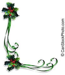 keret, karácsony, határ