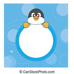 keret, penguin.