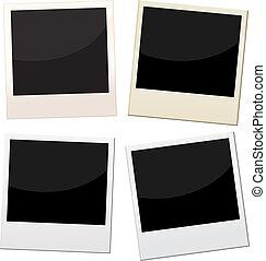 keret, polaroid