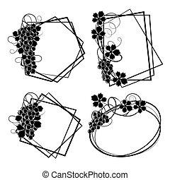keret, szőlőtőke