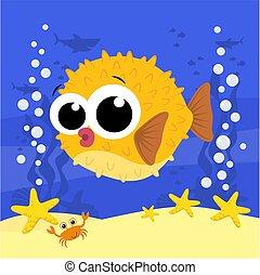 kevés, blowfish.eps, csinos