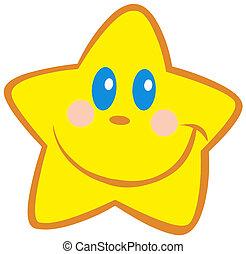 kevés, boldog, csillag