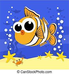 kevés, csinos, clownfish.eps